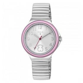 "Tous reloj de niña ""Easy"" con bisel rosa."