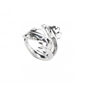 """Uno de 50 anillo de mujer """"La Hoja"""""""