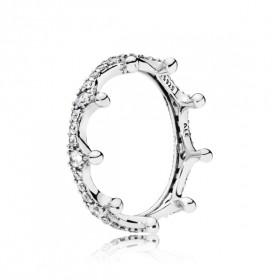 """Pandora anillo de mujer """"Corona Encantada"""" en plata."""