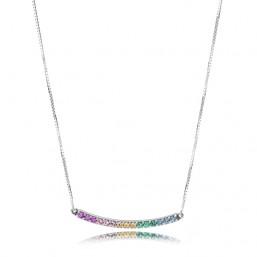 """Pandora collar de mujer """"Arco de Amor Multicolor"""""""