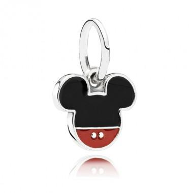 "Pandora Disney charm colgante ""Icono Mickey""."