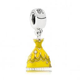 "Pandora Disney charm colgante ""Vestido de Bella""."