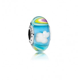 "Pandora charm de pulsera ""Arco Iris iridiscente"""