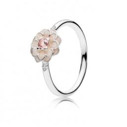 """Pandora """"Dalia"""" anillo con esmalte."""