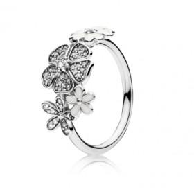 Pandora Ramo brillante anillo en plata