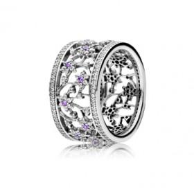 Pandora No me olvides anillo de mujer