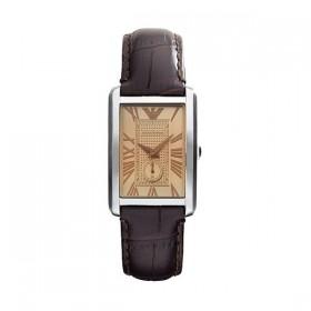 Emporio armani reloj de mujer Marco en piel.