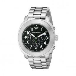 Emporio Armani reloj multifunción de caballero Delta en acero.