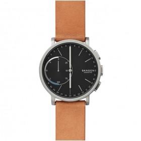 Skagen Hagen Connected Hybrid reloj de caballero en piel.