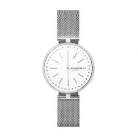 Skagen Signature Hybrid smartwatch reloj de mujer en acero.
