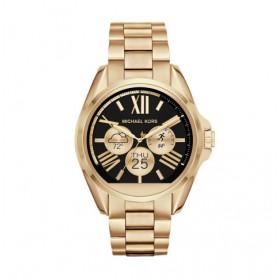 Michael Kors Access reloj inteligente Bradshaw en acero dorado.