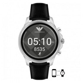 Emporio Armani Connected Smartwatch en piel.