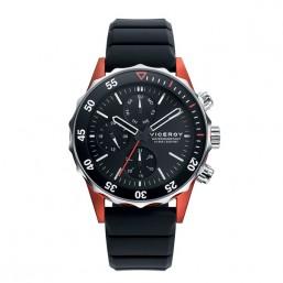 Viceroy reloj multifunción de caballero Colección Heat en silicona.