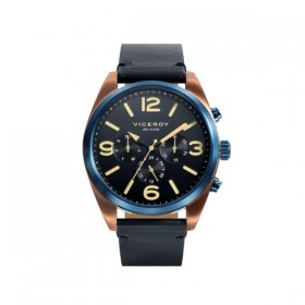Viceroy reloj multifunción de caballero Colección Heat en piel.