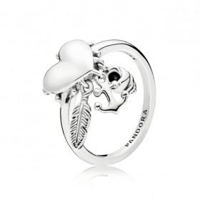"""Pandora """"Símbolos Espirituales"""" anillo."""
