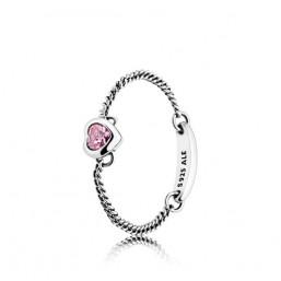 """Pandora """"Corazón Espiritual Rosa"""""""