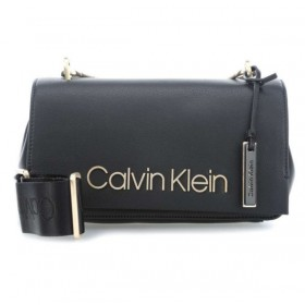 Calvin Klein Candy Shoulder negro bolso de mujer.