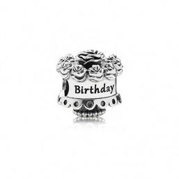 Pandora charm Cumpleaños Feliz en plata