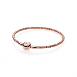 Pandora Rose Moments pulsera de malla