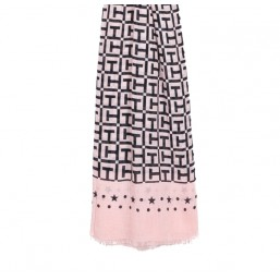 Tommy Hilfiger TH Monogram pañuelo rosa