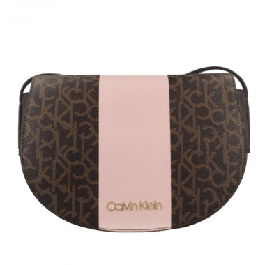 Calvin Klein Mono Block Saddle Bag