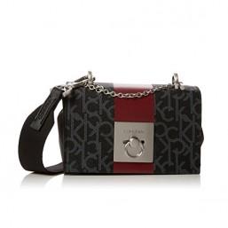Calvin Klein Mono Block Small Flap Crossbody