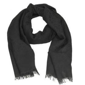 Calvin Klein Monogram Jaquard Scarf negro