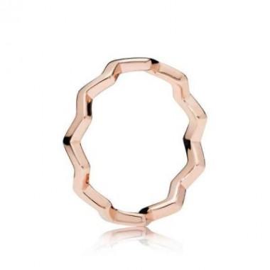 Pandora Rose Zig Zag Eterno anillo
