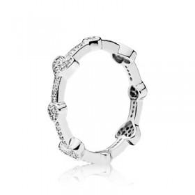 """Pandora """"Corazones Seductores"""" anillo"""