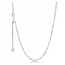 Pandora cadena en plata.