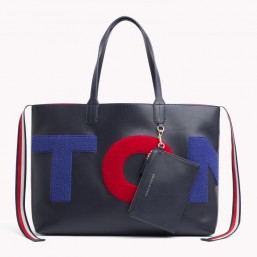 Tommy Hilfiger Iconic Tommy Tote Towelling