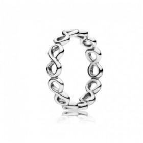 Pandora Brillo Infinito anillo en plata