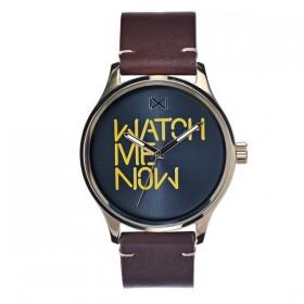 Mark Maddox Village reloj de caballero en piel.