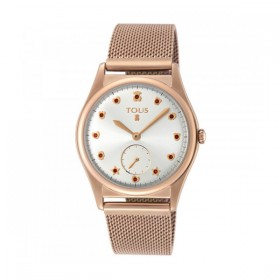 Tous Free reloj de mujer en acero IP rosado