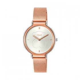Tous Real Bear reloj de mujer en acero bicolor