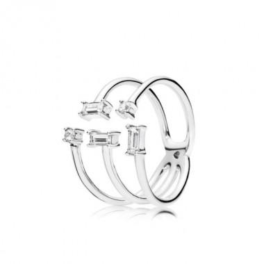 """Pandora """"Fragmentos de Brillo"""" anillo de mujer"""