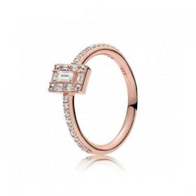 "Pandora Rose ""Hielo Luminoso"" anillo de mujer"