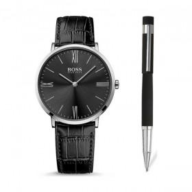 Hugo Boss Set de regalo con reloj y boligrafo
