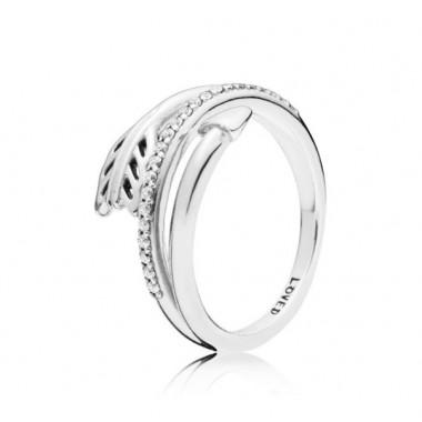 """Pandora """"Flecha Brillante"""" anillo en plata"""