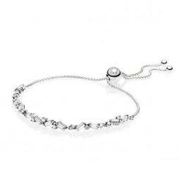 Pandora Belleza Glaciar pulsera de plata