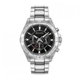 Bulova 96A216 reloj cronógrafos en acero