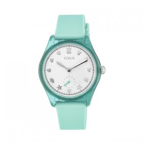Tous Free Fresh reloj de silicona menta