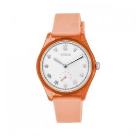 Tous Free Fresh reloj de mujer en silicona coral