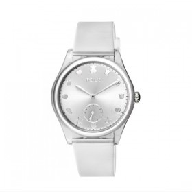 Tous Free Fresh reloj de mujer en silicona transparente
