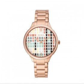 Tous Tartan multicolor reloj de mujer en acero