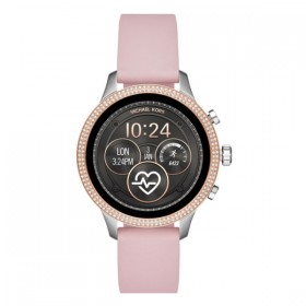 Michael Kors Access reloj inteligente en silicona rosa