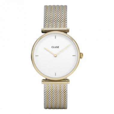 Cluse Triomphe reloj de mujer en acero bicolor