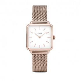 Cluse La Tétragone Rose Gold reloj de mujer