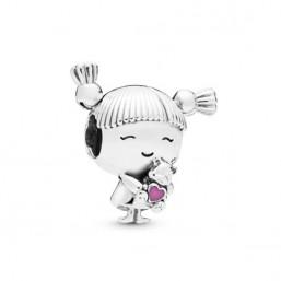 """Pandora """"Niña"""" charm en plata"""