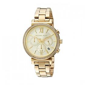 Michael Kors Sofie reloj de mujer en acero dorado